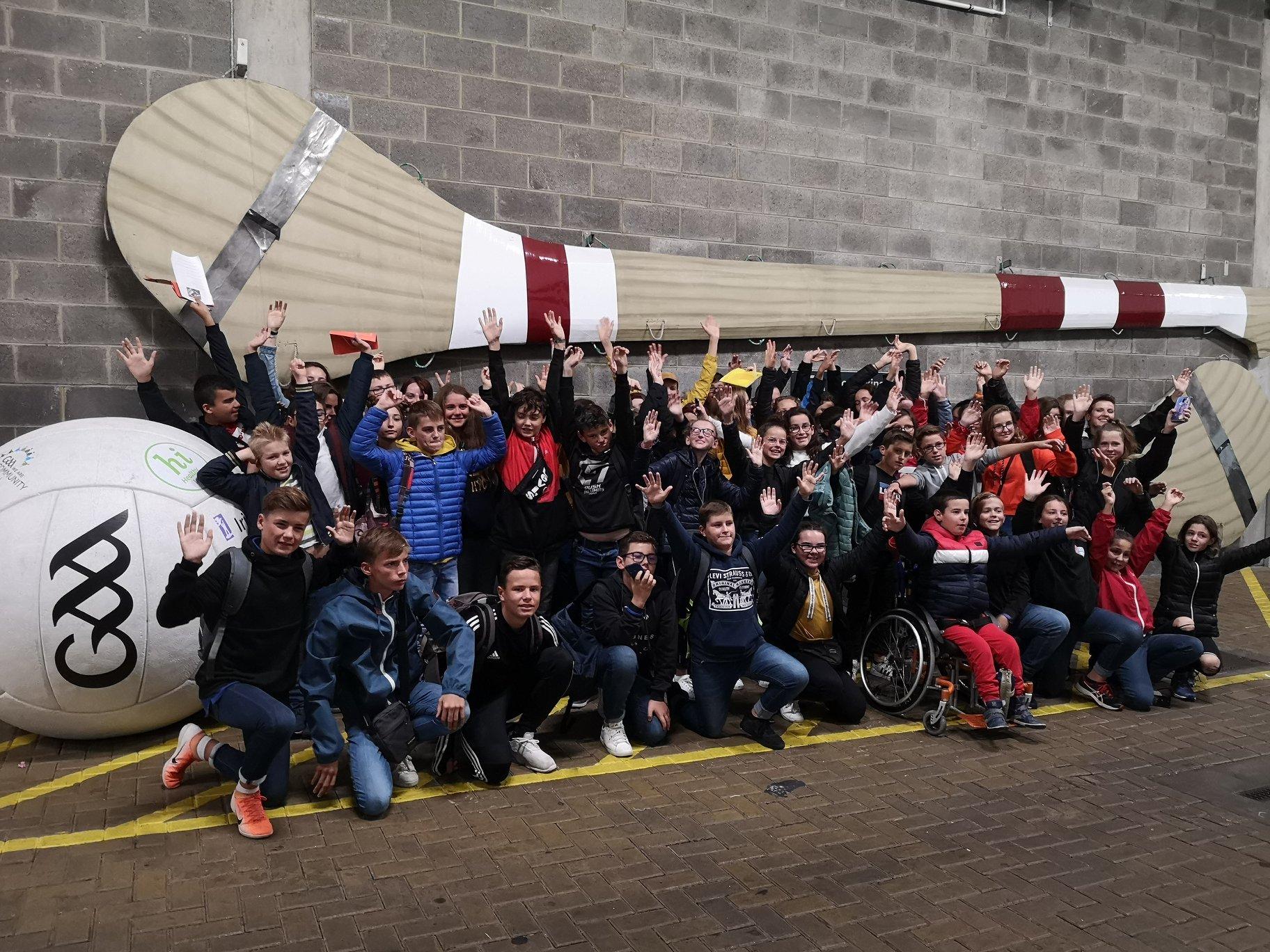 Voyage en Irlande pour les 5ème et 4ème - Collège Notre Dame D'espérance Cleder